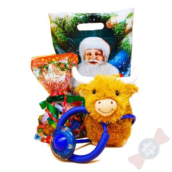 Новогодний подарок с конфетами «Скачем с Мини»