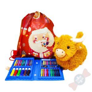 Корпоративные новогодние подарки «Рюкзак для творчества»