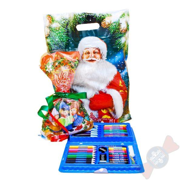 Сладкие новогодние подарки оптом 2021 «Активный или творческий»