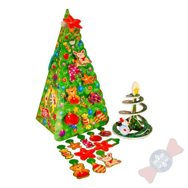 """Сладкие новогодние подарки оптом """"Наряди ёлку"""""""