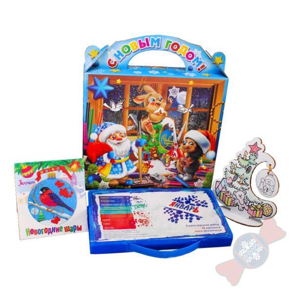 """Новогодние подарки в детский сад """"Разрисуй-ка"""""""