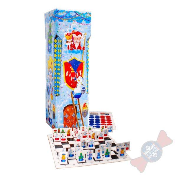 """Новогодний подарок с конфетами """"Ладья"""""""