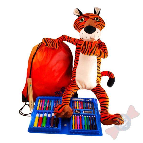 """Детские новогодние подарки от производителя """"Тигриный вещмешок"""""""
