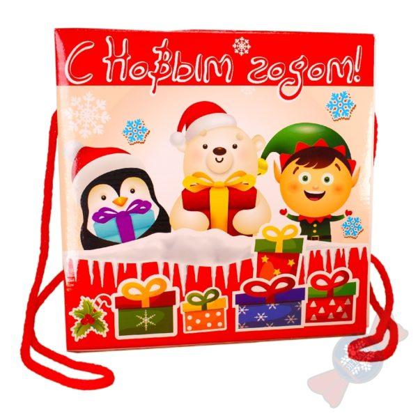 """Детский подарок на новый год """"Чудо-ящик ЭКО"""""""